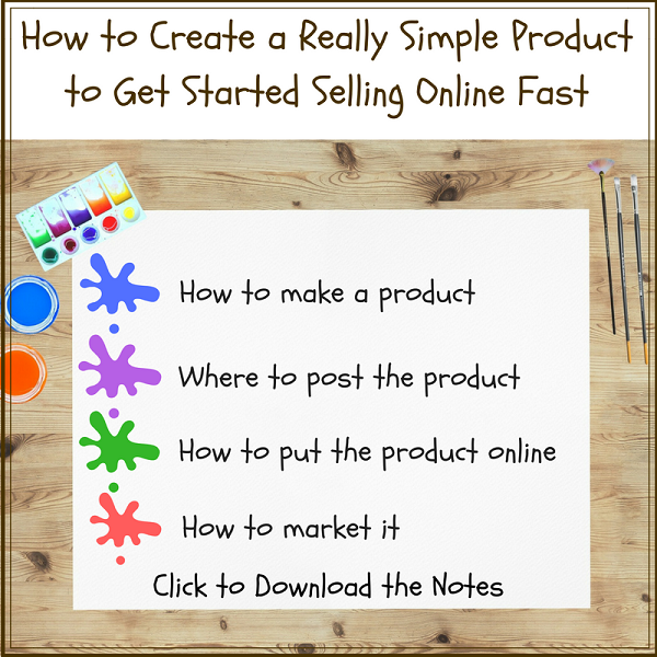 how to create a really simple product to get started